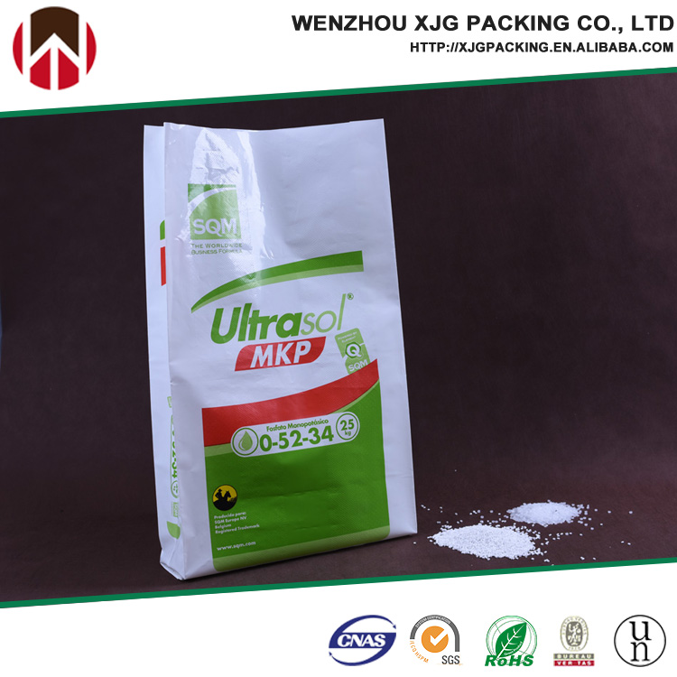25kg recycle polyethylene bag for water soluable fertilizer