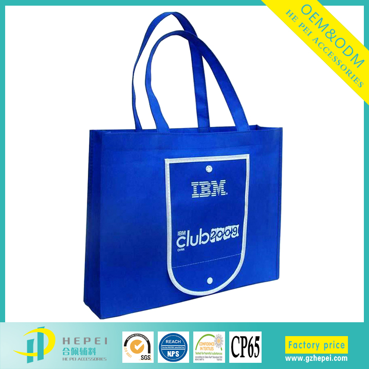 PP laminated non woven decorative reusable shopping bag with logo