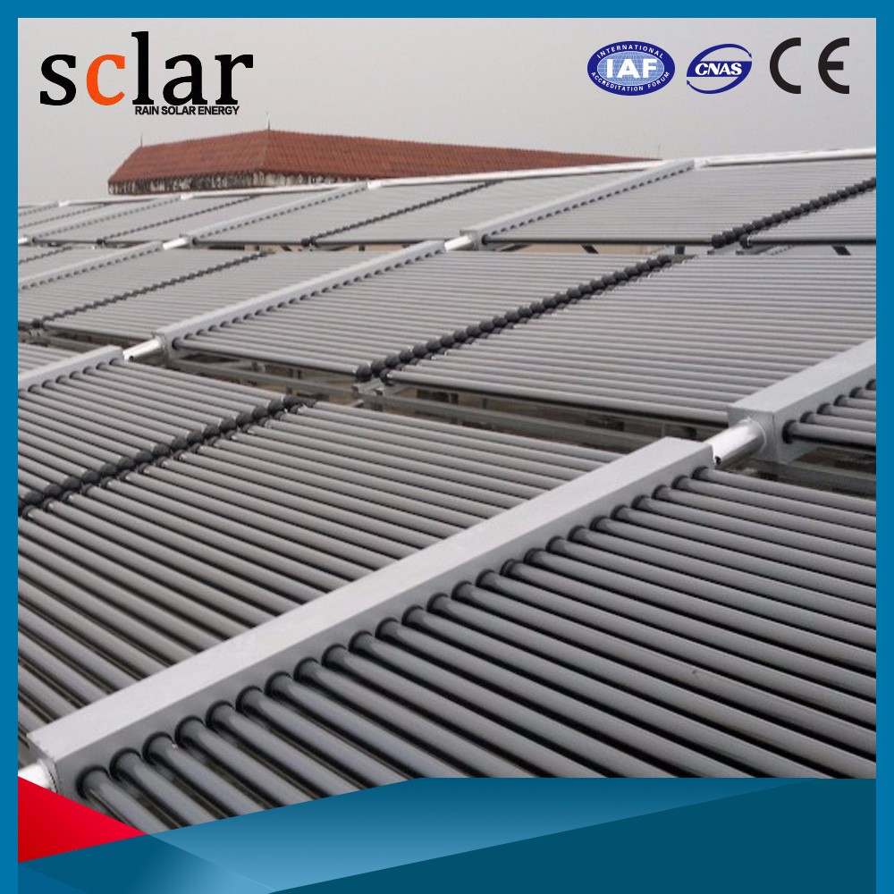 Balcony heat pipe solar collector price of solar water heater parts
