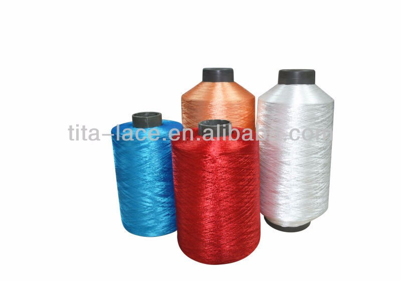 Raw white 150d/2 polyester embroidery thread for embroidery machines