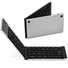 Mini ultra-thin Fold Wireless Bluetooth v3.0 Keyboard for Android ios windows Tablets