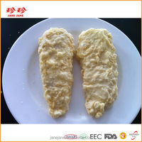 Frozen Prefried Tempura Fish Strip