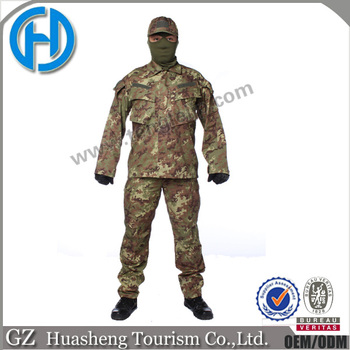 custom Italian Camo Combat Uniform