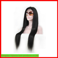 Most popular hair factory cheap 26inch 8a grade virgin brazilian human hair lace front dreadlock wig