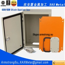XAX38DB OEM ODM customized DL-T404 B3804 GB3906 GB11022 IEEE 386 CSA UL 50 NEMA metal electrical distribution box