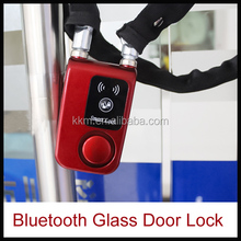 New Arrival Automatic Bike Bluetooth Link Security Lock Gate Electronic Lock For Bike Shop Door Glass Door