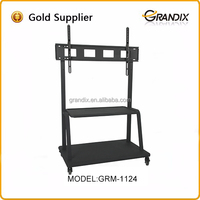 Vertical rotation movable TV Cart tv mounting bracket