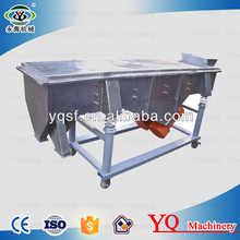 Stainless steel linear foood industry instant coffee powder sieving machine