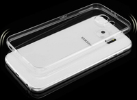 Ultra-thin Transparent Clear TPU Cell Phone Case for Samsung S6 edge case cover UTT