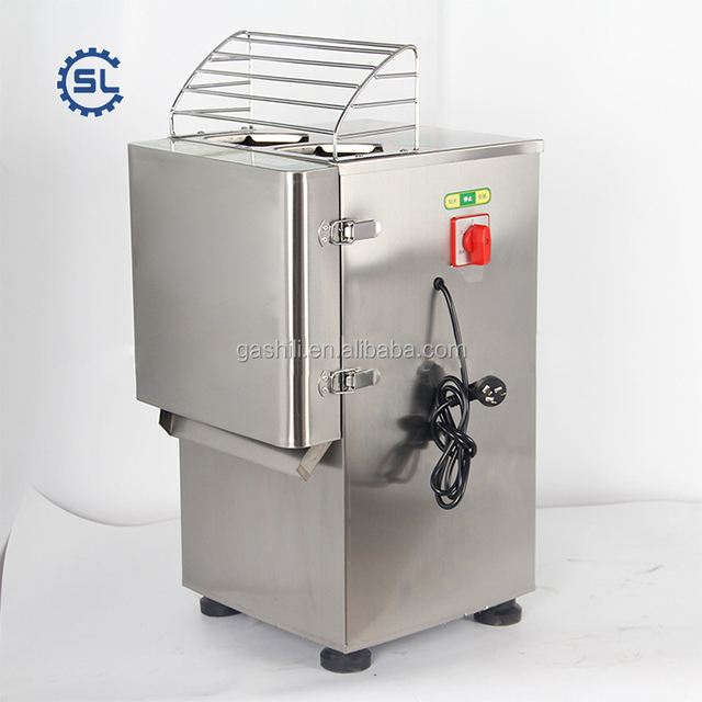High quality stainless steel vegetable slicer machine for onion tomato apple and other fruit or vegetable cutting