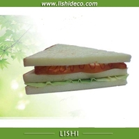 Decorative artificial sandwich models artificial fake food model