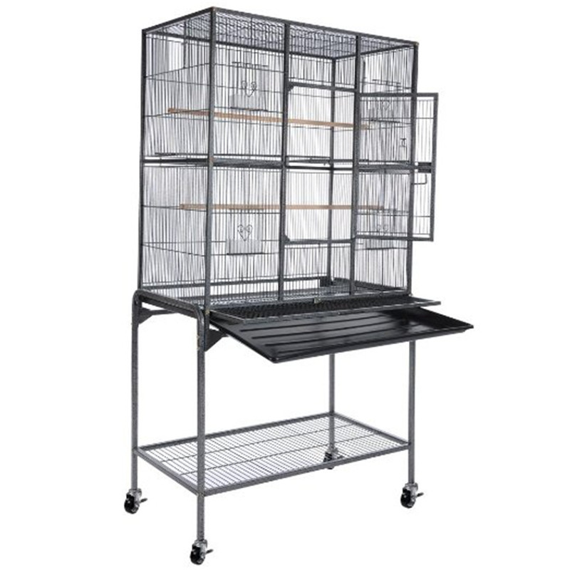 Large fancy Stainless Steel Bird Cage / Parrot Cage / Pet Cage