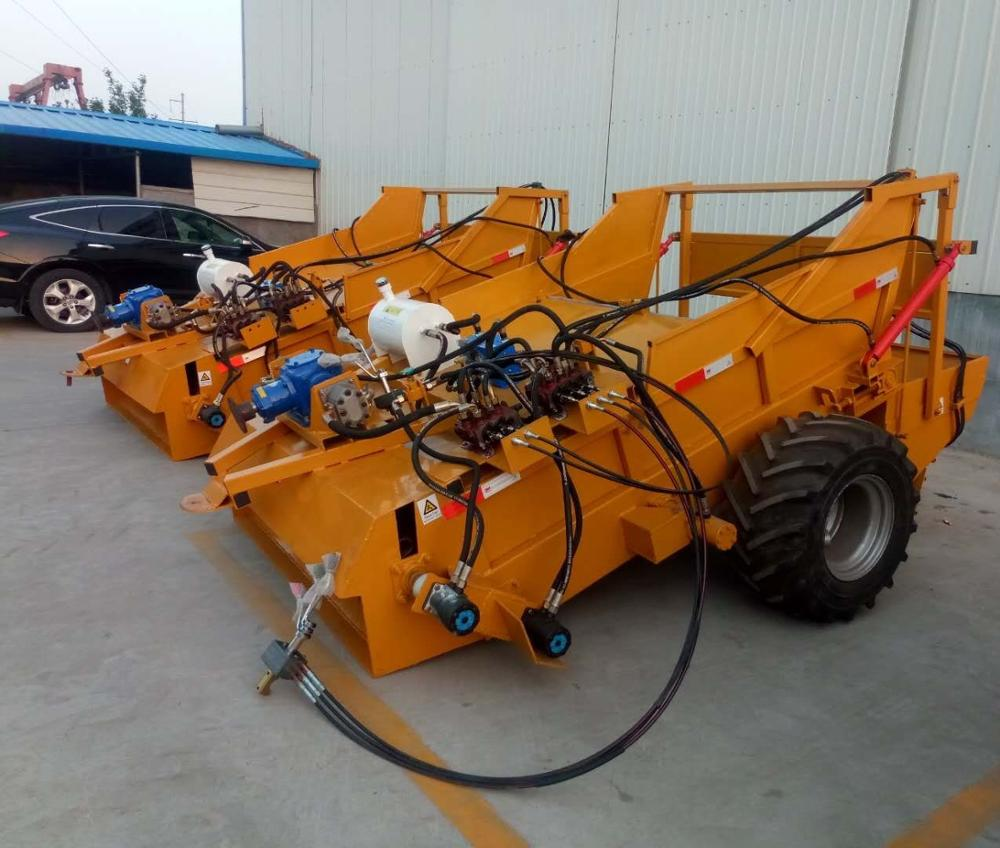Tractor Mounted Beach Sand Cleaning machine