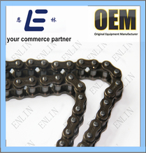 ISO9001 motorcycle chain 428H yellow