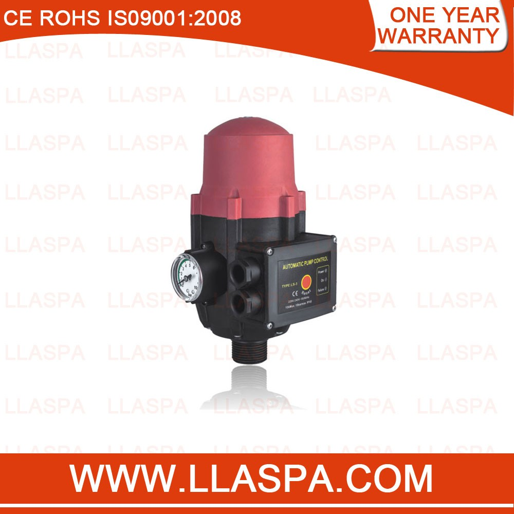 Adjustable Pressure Switch Electric Electronic Automatic Water Pump Controller