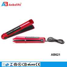 Titanium Corrugated USB Devices Charging Curling hair straighteners hair iron