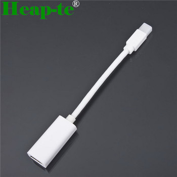 Mini Display Port Male to HDMI Female Adapter Cable - White 20cm