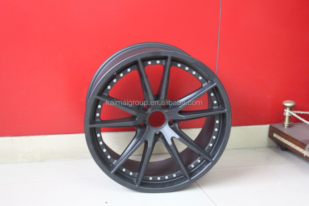 "hot sell car aluminum alloy wheel for Korea car| 5 holes |16"" 17 "" 18 "" 19 """