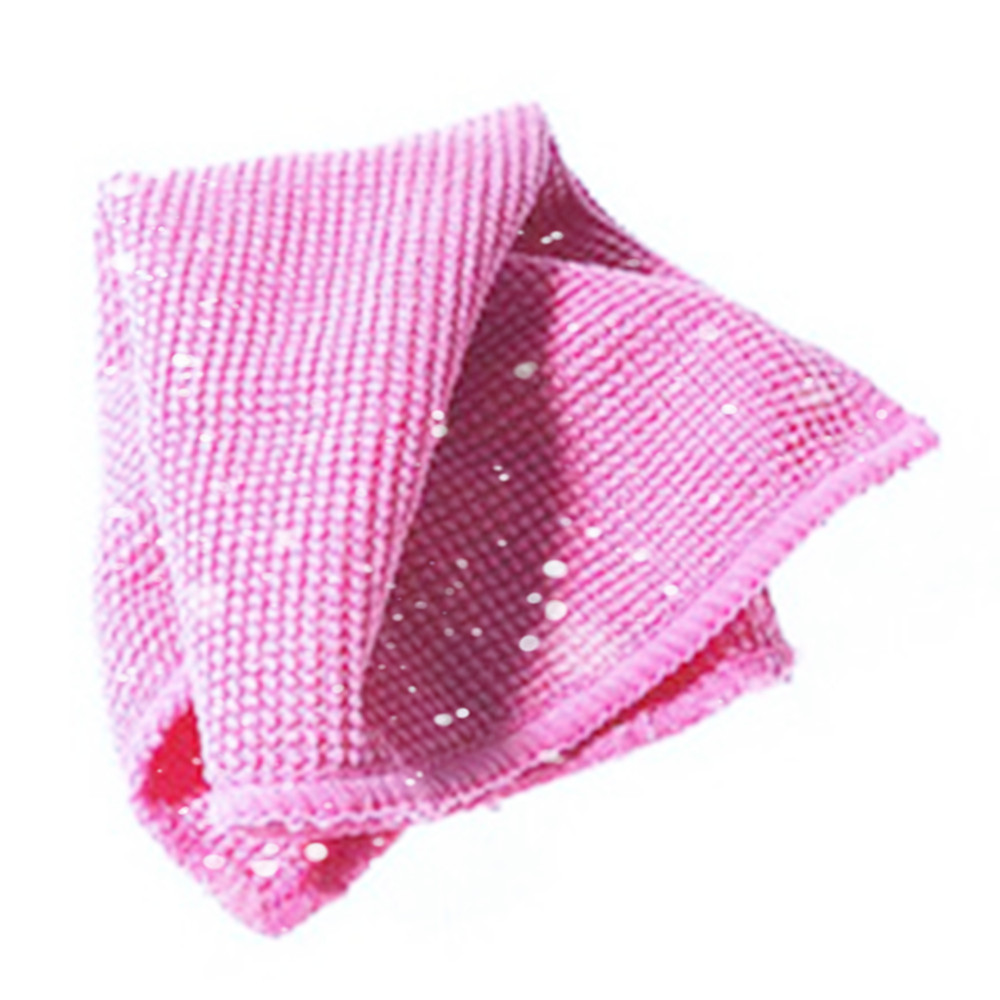 No Harm good quality microfiber mesh cleaning cloth/antibacterial protective microfiber cleaning cloth