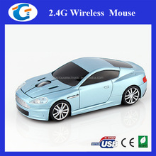 Promotion drivers usb optical mouse racing wireless car mouse