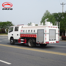 5000 liters stainless steel water tank truck