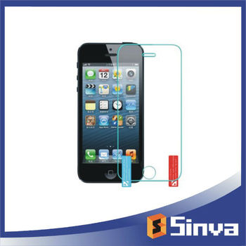 Best Fit! For iPhone 5/5s/5c screen guard/screen protector, waterproof