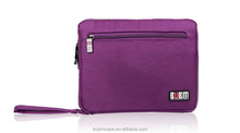 Purple Fahionable 9.7 inch Tablet Case for Notebook Tablet Sleeve Pouch Portable Accessories Organizer
