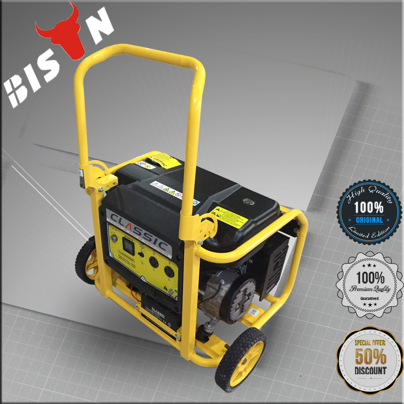 BISON 2.5kw Gasoline Powered Portable Generator with Wheel Kit