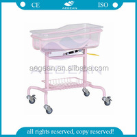 AG-CB009 CE approved With ABS basin hospital economic ABS basin models in cots