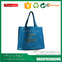 Large practical PVC shopping bag with handle