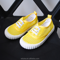 mesh shoe material for colors boy kids shoes
