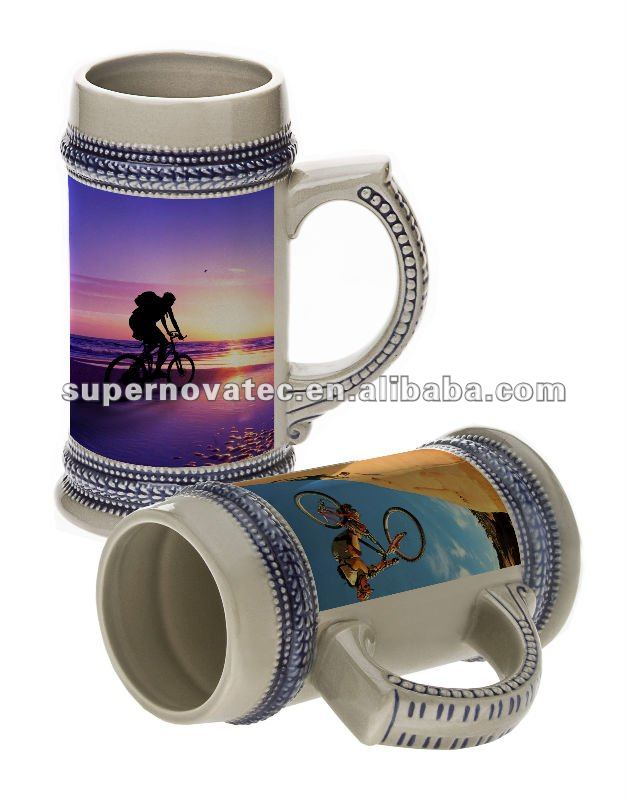 22oz German Beer Stein / Sublimation Beer Mug