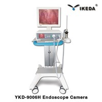 Medical ent endoscope type portable endoscopy image forming system