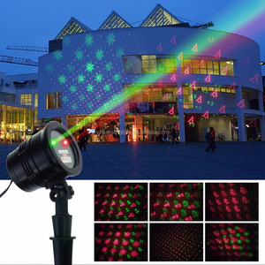 IP65 Mini laser light outdoor use red&green starry dots laser light
