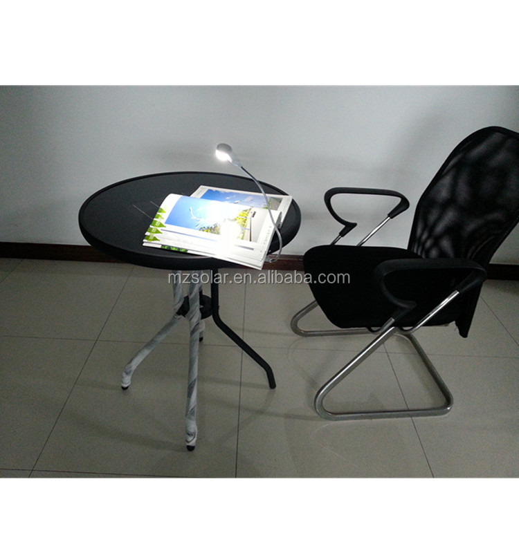 computer table new design rechargeable outdoor solar table