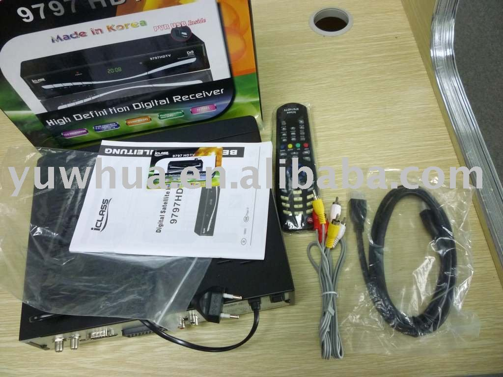 ICLASS 9797 HD Satellite Receiver
