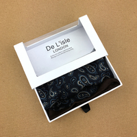 High Quality Drawer Case Paper Packaging Pocket Square Box