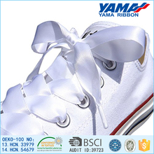 High quality cheap printed recycled polyester shoelaces