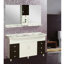 Good Quality Sell Well White and Customized Antique Style Bathroom Floor Cabinet