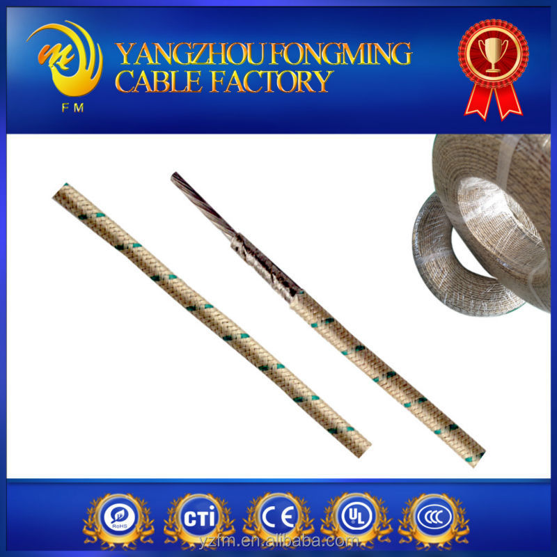 Resistant Heat Wire Nickel Conductor EL Wire Flexible Heating Cable