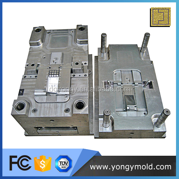 Hot runner injection plastic file holder mould