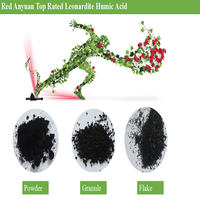 Base Fertilizer Potassium Humate Flake / Humic Acid Flake Humus Fertilizer