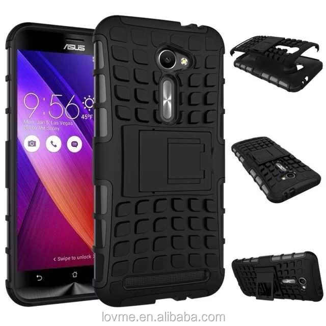 Shock Proof Hybrid Kickstand Case Cover For Asus Zenfone 2