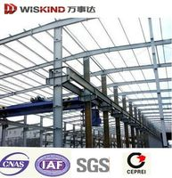Light Structural Steel Frame steel structure warehouse/worshop/Villa in Steel Structure in Favorable Price