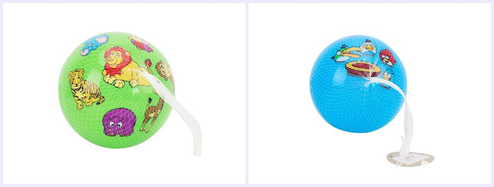 2019 China Cheap PVC Beach Ball 9 Inch Colorful Inflatable Bounce Ball Toys For Promotion