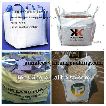 1000kg PP FIBC Jumbo bulk bag for cement
