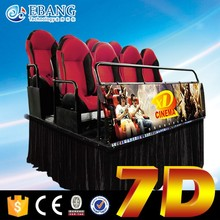hot sales interactive cinema 7d gun shooting game machine 7d cinema