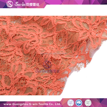 African cord lace fabric and fashion fabric 2016 for textile processing