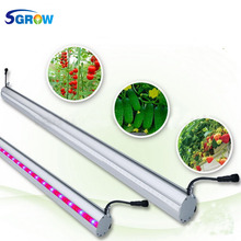 Alibaba Wholesale Sgrow 75W Double Sided LED Grow Light Bar ,Indoor greenhouse ,tomato,cucumber tree supplemental Grow Lamp