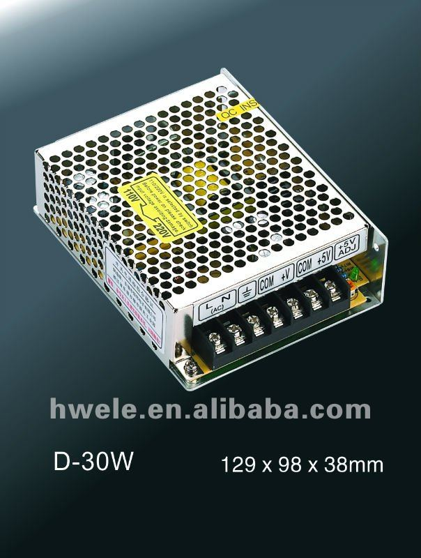 T-30W triple output switching power supply